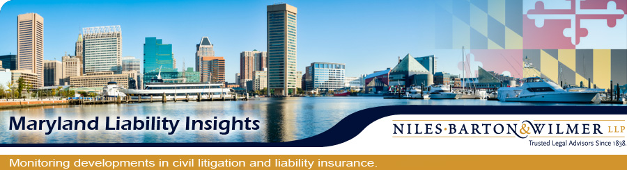 Maryland Liability Insights